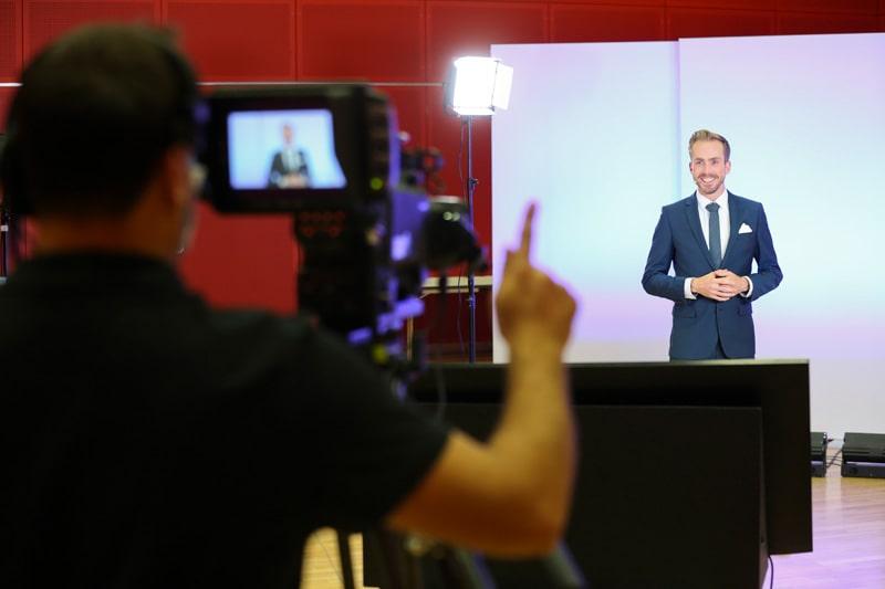 Moderator 2 Videoproduktion